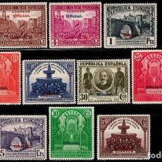 Sellos: ESPAÑA- 1931 - II REPUBLICA - EDIFIL 620/629 - SERIE COMPLETA - MNH** - NUEVOS - VALOR CATALOGO 110€. Lote 234543855