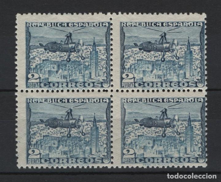 .G-SUB_10/ ESPAÑA 1938, EDIFIL 769 MNH**, (BL4) , AUTOGIRO LA CIERVA (Sellos - España - II República de 1.931 a 1.939 - Nuevos)