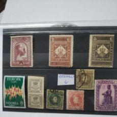 Sellos: ESPAÑA 1931. MONSERRAT EDIFIL 637*, 638*, 642*,NUEVOS ,CON GOMA Y CHARNELA.REGALO LOS OTROS SELLOS.. Lote 235393055