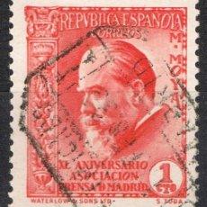 Sellos: [A7864] ESPAÑA 1936; ASOC. DE LA PRENSA DE MADRID, 1 C. (U). Lote 235614445