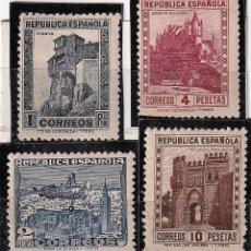 Sellos: .EDIFIL Nº770-772A.MONUMENTOS Y AUTOGIRO.1,4.10 Y 2PTAS.NUEVOS.ESPAÑA,II REPUBLICA DE 1931 A 1939. Lote 235827275