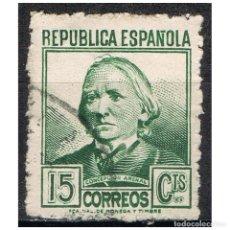 Sellos: [B0015] ESPAÑA 1937; PERSONAJES, 15C. (U). Lote 236477450