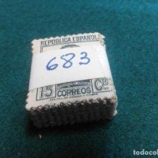 Sellos: PASTILLA DE 100 SELLOS USADOS PRIMER CENTENARIO. Lote 236529440