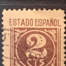 Sellos: EDIFIL 815 SELLOS USADOS ESPAÑA AÑO 1937 1940 CIFRAS CID E ISABEL II. Lote 236781410
