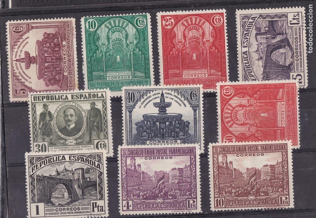 NN19- CUPP EDIFIL 604/13 NUEVOS * CON FIJASELLOS (Sellos - España - II República de 1.931 a 1.939 - Nuevos)