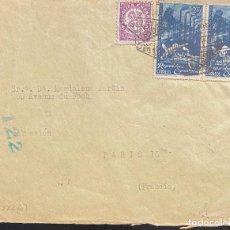 Sellos: ESPAÑA, CARTA CIRCULADA EN EL AÑO 1938. Lote 237268750