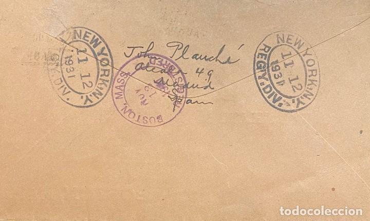 Sellos: ESPAÑA, CARTA CIRCULADA EN EL AÑO 1931 - Foto 2 - 237272225