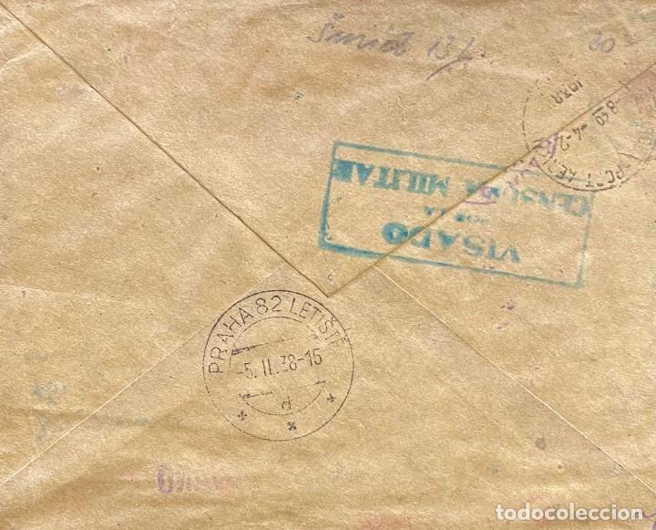 Sellos: ESPAÑA, SEGUNDA REPÚBLICA, CARTA CIRCULADA EN EL AÑO 1938 - Foto 2 - 237464240