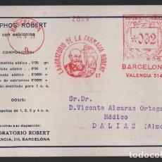 Sellos: CARTA PUBLICITARIA LABORATORIOS,- RODILLO DE REPUBLICA ESPAÑOLA, VER TOTOS. Lote 237638375
