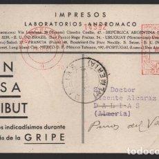 Sellos: CARTA PUBLICITARIA LABORATORIOS,- RODILLO DE REPUBLICA ESPAÑOLA, VER TOTOS. Lote 237638530