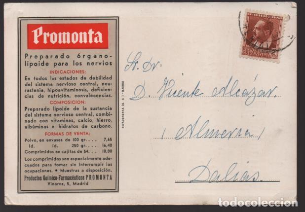 CARTA PUBLICITARIA LABORATORIOS,- REPUBLICA ESPAÑOLA, VER TOTOS (Sellos - España - II República de 1.931 a 1.939 - Cartas)