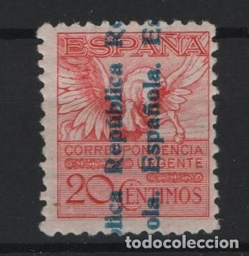 TV_003/ ESPAÑA 1931, EDIFIL 603 MH*, PEGASO (Sellos - España - II República de 1.931 a 1.939 - Nuevos)