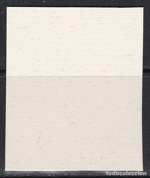 Sellos: Edifil 20 sin dentar bloque de 4 papel carton Barcelona MNH V.Cat416 año1938 Puerta Gotica 20s - Foto 2 - 239485120