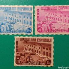 Sellos: ESPAÑA. 1936. EDIFIL 707*,708*,709* II REPÚBLICA.. Lote 240119555