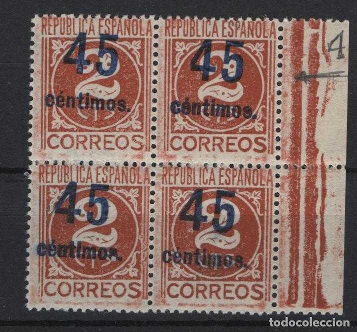 TV_003/ 744EB AÑO1938 (Sellos - España - II República de 1.931 a 1.939 - Nuevos)