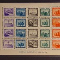 Selos: AÑO 1938 EN HONOR DEL EJÉRCITO Y LA MARINA EN SELLOS NUEVOS EDIFIL 849. Lote 242914385