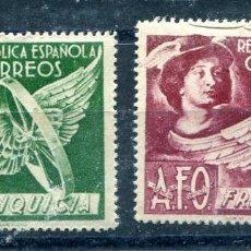 Sellos: EDIFIL 24 Y 25 DE FRANQUICIAS. DOS SELLOS DE EFIGIE DE MERCURIO. VER DESCRIPCIÓN. Lote 243444995
