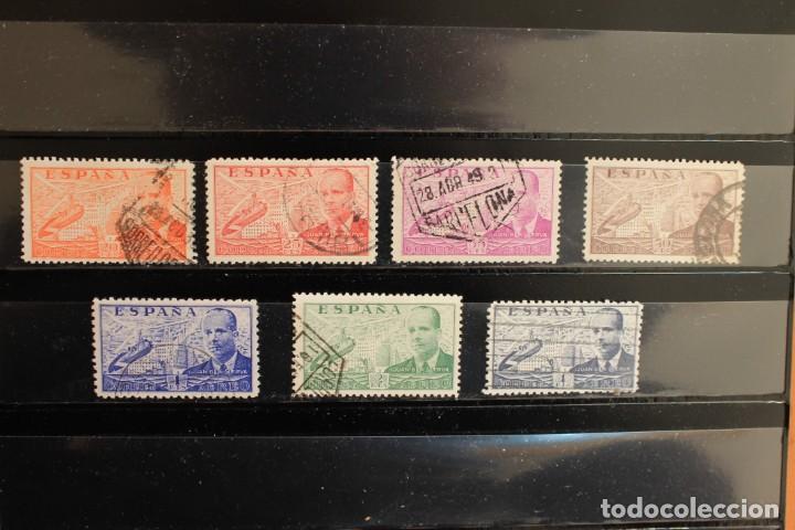 SERIE JUAN DE LA CIERVA AÑO 1939 EN USADO (Sellos - España - II República de 1.931 a 1.939 - Usados)