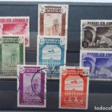 Sellos: SERIE INCOMPLETA ASOCIACION DE LA PRENSA EN USADO ESPAÑA 1936. Lote 244818365