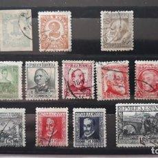 Sellos: SERIES COMPLETAS USADAS SEGUNDA REPUBLICA. Lote 244819300
