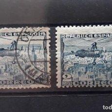 Sellos: EDIFIL 769 * + 689 SEGUNDA REPUBLICA ESPAÑA 1938. Lote 244821315