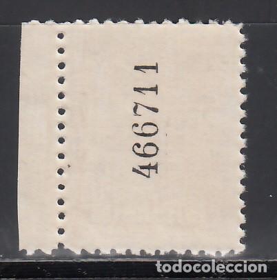 Sellos: BARCELONA. 1929-1931 EDIFIL Nº 5ef. /*/ violeta. Falta el color de fondo. - Foto 2 - 244907905