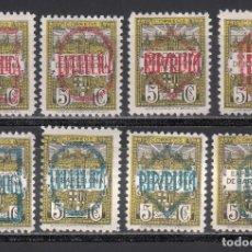 Sellos: BARCELONA. 1931 EDIFIL Nº NE 1 / NE 8 /*/, NO EXPENDIDOS. Lote 244914405