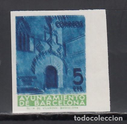 BARCELONA. 1939 EDIFIL Nº 13 MFS, (**), MUESTRAS. (Sellos - España - II República de 1.931 a 1.939 - Nuevos)