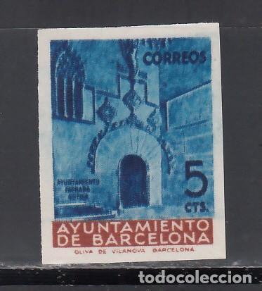 BARCELONA. 1939 EDIFIL Nº 13 MHS, /**/, MUESTRAS. (Sellos - España - II República de 1.931 a 1.939 - Nuevos)