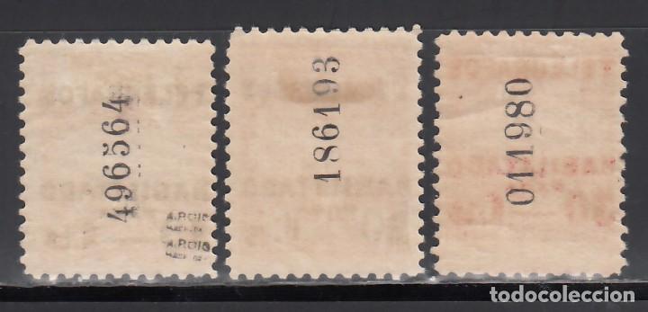 Sellos: BARCELONA. Telégrafos. 1929 EDIFIL Nº 1 / 3 /*/, - Foto 2 - 245903535
