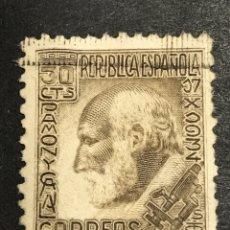 Sellos: EDIFIL 689 SANTIAGO RAMON Y CAJAL, USADO, BUEN ESTADO. Lote 246591040