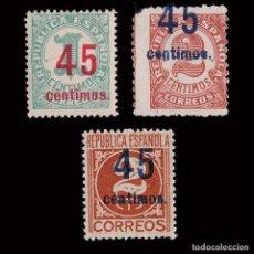 Sellos: 1938.CIFRAS.HABILIADOS.SERIE MNH.EDIFIL.742-744. Lote 252180955