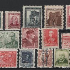 Sellos: R15/ LOTE SELLOS REPUBLICA, NUEVOS MNH**, SIN FIJASELLOS. Lote 252500005