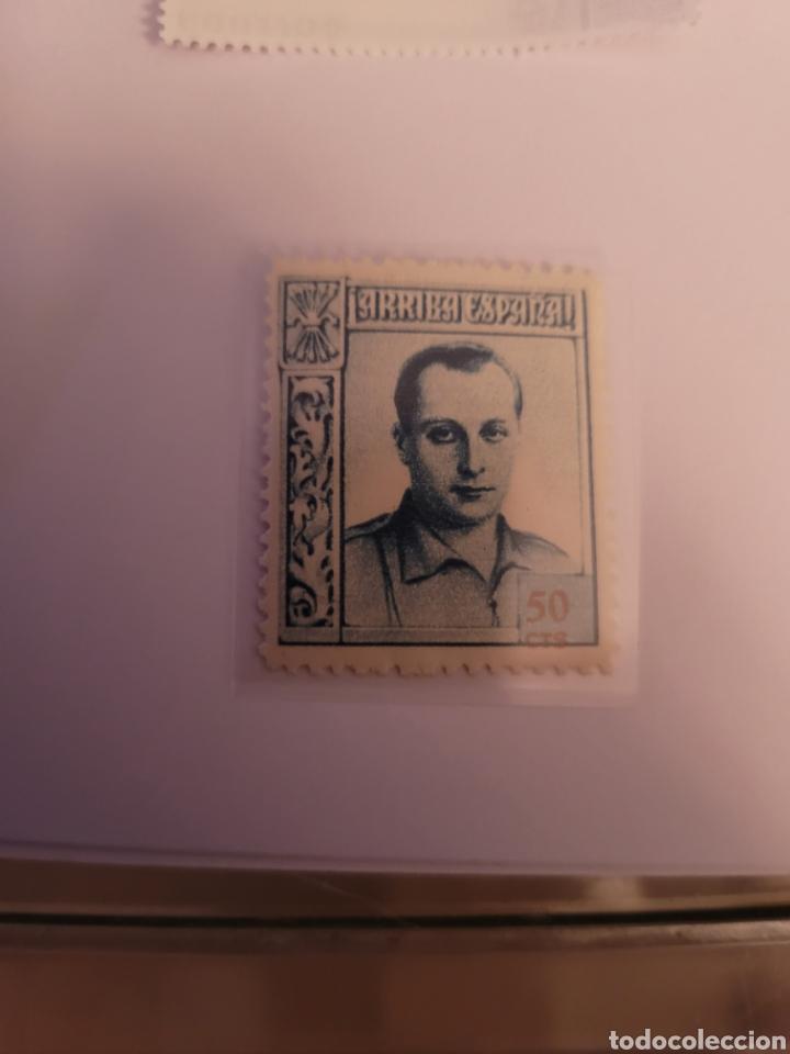 SELLO DE ESPAÑA 1937. JOSÉ ANTONIO PRIMO DE RIBERA. 50 CTS. NUEVO (Sellos - España - II República de 1.931 a 1.939 - Nuevos)