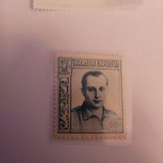 Sellos: SELLO DE ESPAÑA 1937. JOSÉ ANTONIO PRIMO DE RIBERA. 50 CTS. NUEVO. Lote 252578010