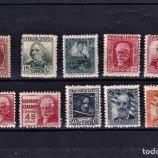 Timbres: SELLOS ESPAÑA 1936 EDIFIL 731/740 EN NUEVO VALOR CATALOGO 42€. Lote 252619125