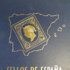 Sellos: ALBUM DE SELLOS DE ESPAÑA. Lote 253896980