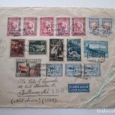 Selos: ER * SOBRE REPUBLICA ESPAÑOLA * CENSURA. Lote 254103925