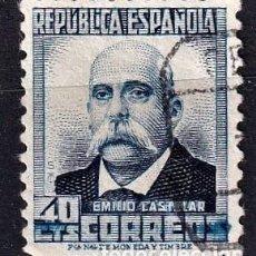 Sellos: SELLOS ESPAÑA 1932 EDIFIL 660 EN USADO VALOR CATALOGO 10€. Lote 254730250