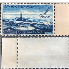 Sellos: EDIFIL 775 MNH SELLOS ESPAÑA NUEVOS ** 1938 SUBMARINO. Lote 255950420