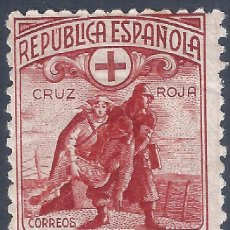 Selos: EDIFIL 767N CRUZ ROJA ESPAÑOLA 1938 (VARIEDAD...MUESTRA A000,000) VALOR CATALOGO: 92 €. LUJO. MNH **. Lote 257988935