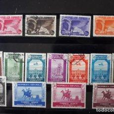 Selos: SERIE COMPLETA EN USADO EDIFIL 711 A 725 ASOCIACION DE LA PRENSA ESPAÑA 1936. Lote 258197395