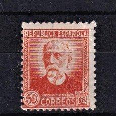 Sellos: SELLOS ESPAÑA: AÑO 1932 EDIFIL Nº 671 EN NUEVO VALOR CATALOGO 116 €. Lote 260017700