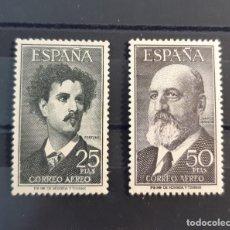 Francobolli: ESPAÑA 1955/56. EDIFIL 1164/65**. NUEVOS LUJO SIN FIJASELLOS. Lote 260376045