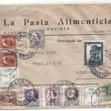 Sellos: II REPÚBLICA ESPAÑOLA. AÑO 1933. CARTA CIRCULACION INTERIOR MADRID.. Lote 261273420