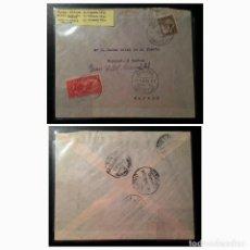 Sellos: II REPÚBLICA ESPAÑOLA. CARTA CIRCULACIÓN AÑO 1935. Lote 261278120