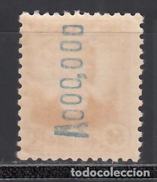 Sellos: ESPAÑA, 1931-1932 EDIFIL Nº 661N /*/ MUESTRA, Numeración A000,000 en el reverso. - Foto 2 - 261965260