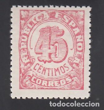 ESPAÑA, 1938 EDIFIL Nº NE 29 /**/, NO EXPENDIDO, SIN FIJASELLOS (Sellos - España - II República de 1.931 a 1.939 - Nuevos)