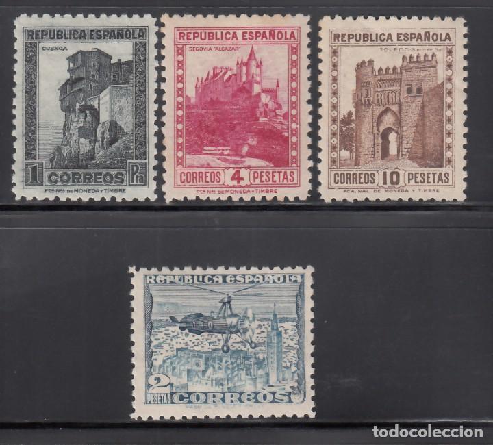 ESPAÑA, 1938 EDIFIL Nº 770 / 772, 770A, /**/, DENTADO 10 DE LINEA. SIN FIJASELLOS (Sellos - España - II República de 1.931 a 1.939 - Nuevos)