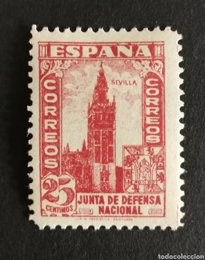 ESPAÑA N°807 MH* (FOTOGRAFÍA REAL) (Sellos - España - II República de 1.931 a 1.939 - Nuevos)